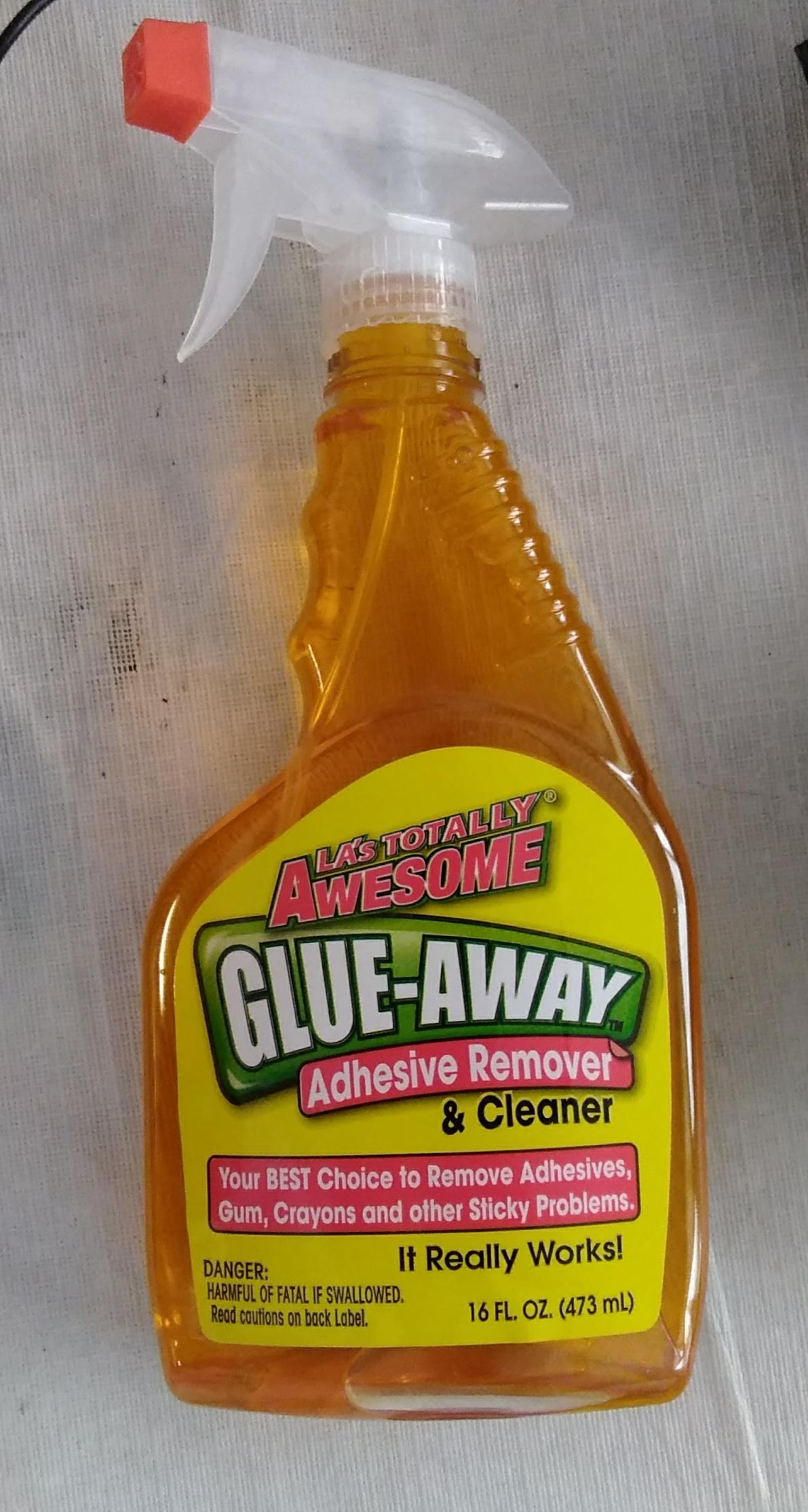 LA's Totally Awsome Glue-Away and Goo Gone Reviewed and Compared
