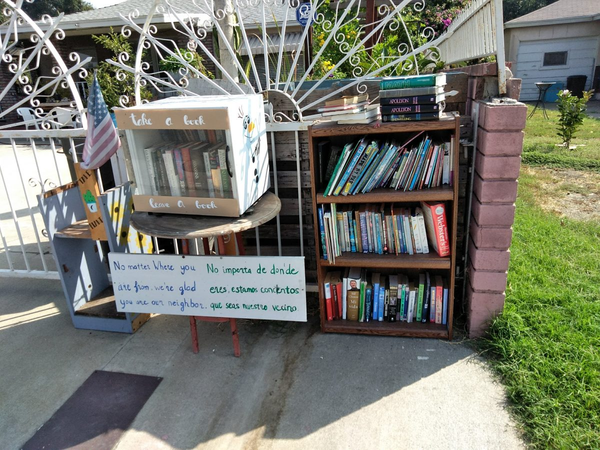 South El Monte Little Library (Take a Book, Donate a Book)